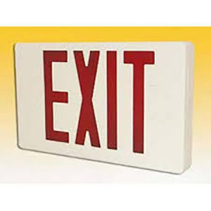 Emergency Exit Signs/Lights