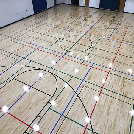 Gym Wood Flooring