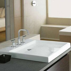 Bathroom Sink and Accessories